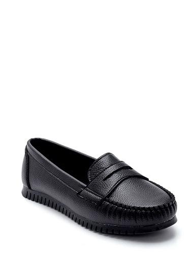 Derimod Kadın Loafer (208) Casual Siyah